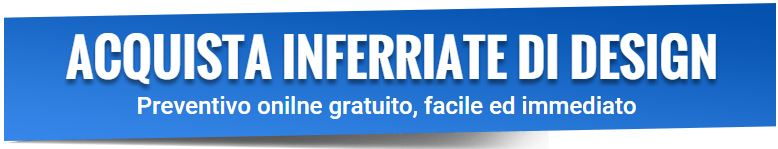 Inferriate di design online