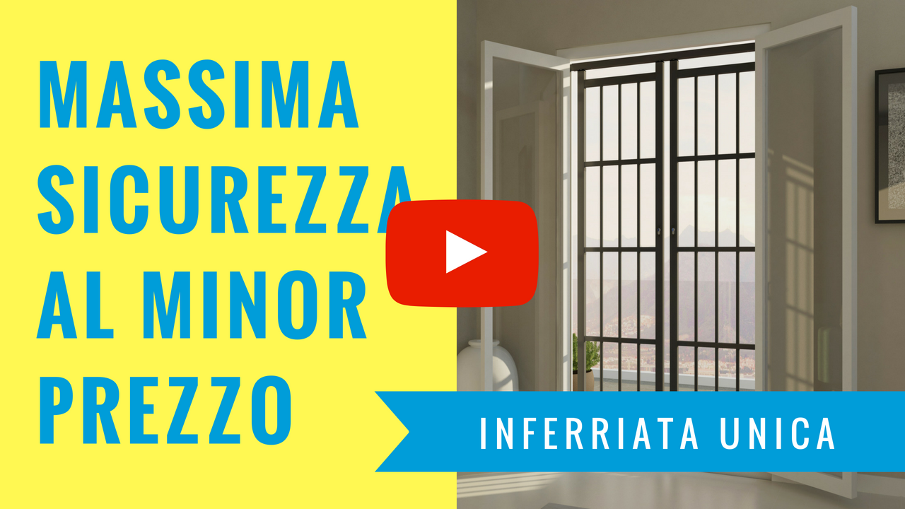 massima sicurezza al minor prezzo inferriata unica youtube