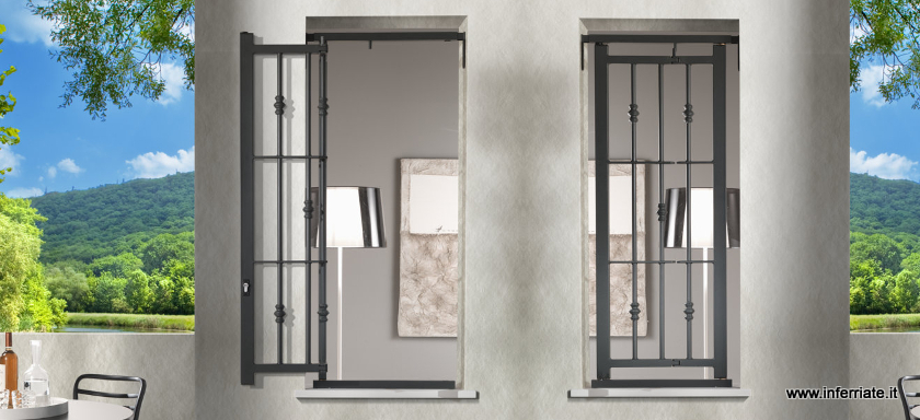 Inferriate di design - Grate per finestre villa ...